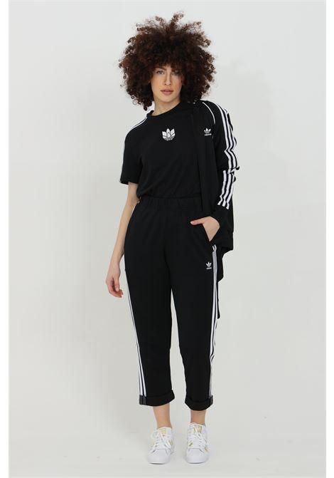 Sweatshirt woman black adidas primeblue sst with full-length zip ADIDAS | Sweatshirt | GD2374.