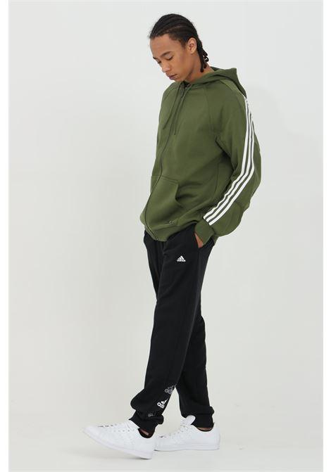Pantaloni uomo nero adidas sport ADIDAS   Pantaloni   GL1408.